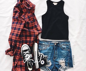 outfit, girl, and fashion image