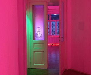 pink and neon image