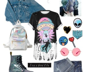aesthetic, clothes, and denim image