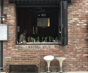 aesthetic, cafe, and outdoor image
