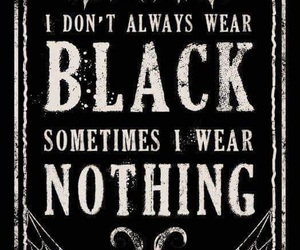 black, clothes, and dark image