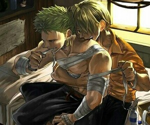 aesthetic, zoro, and zosan image