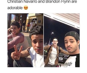 13 reasons why, christian navarro, and brandon flynn image