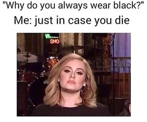black, funny, and relatable image