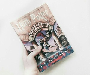 book, harry potter, and hp1 image