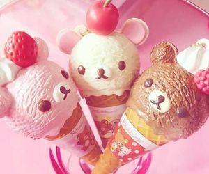 ice cream, kawaii, and food image
