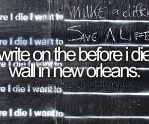before i die and wall image