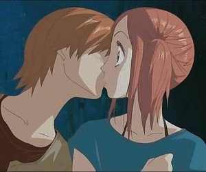 lovely complex, anime, and kiss image