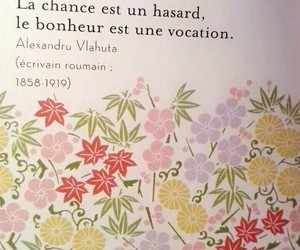 french, luck, and proverb image