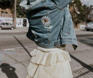 fashion, ruffle skirt, and fashion photography image