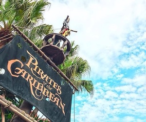 disney and pirates of the caribbean image