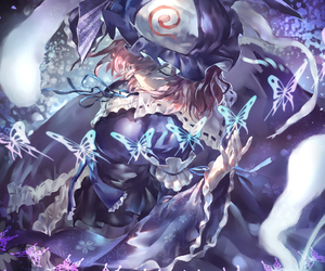 anime girl, fanart, and touhou project image