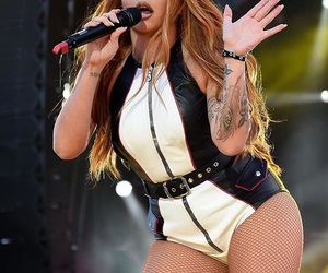 long hair, tattoo, and jesy nelson image