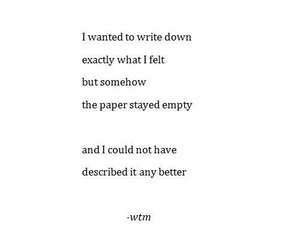 quotes, empty, and poem image