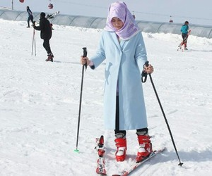 hijab, guzel, and kayak image