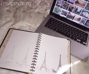 alternative, macbook, and summer image