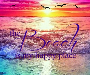 beach, ocean, and quotes image