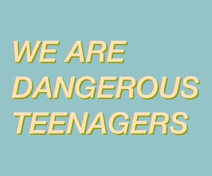 aesthetic, Lyrics, and teenagers image