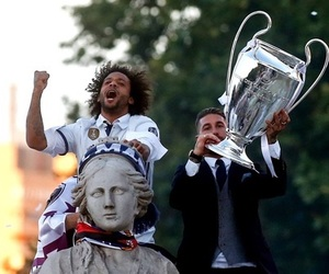 real madrid, love, and marcélo image