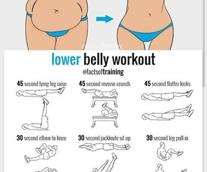 body, exercises, and fit image