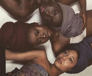 turban, african women, and black beauty image