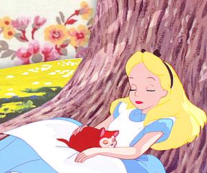 alice in wonderland, disney, and girl image