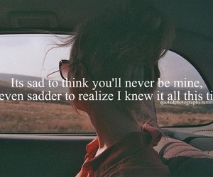 quote, sad, and text image