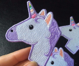 unicorn and patch image