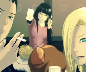 ino, naruto, and naruhina image