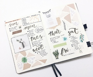 art, college, and bullet journal image