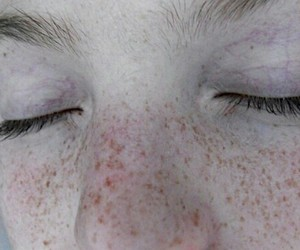 eyes, freckles, and pale image