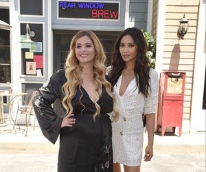 pretty little liars, sasha pieterse, and shay mitchell image