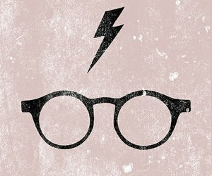 daniel radcliffe, harry potter, and glasses image