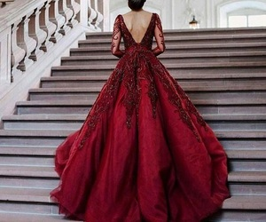 glamour, red, and style image