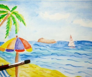 drawing and summer image