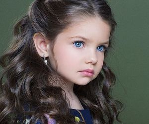 beautiful, blue eyes, and hair image