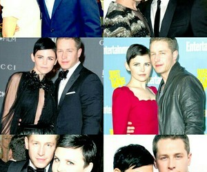 couple, once upon a time, and snowing ouat image