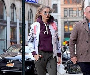 model, fashion, and gigi hadid image