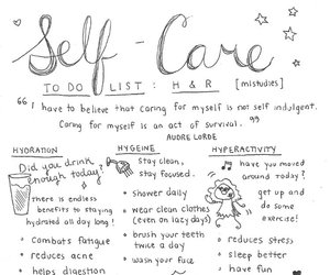 self, wellbeing, and self care image