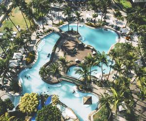 luxury, resort, and pool image