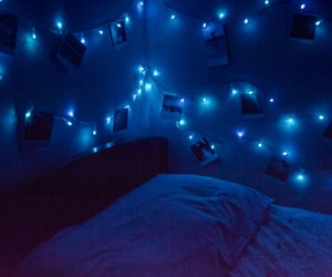 bedroom, blue, and diy image