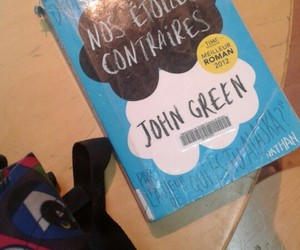 book, the fault in our stars, and nos étoiles contraires image