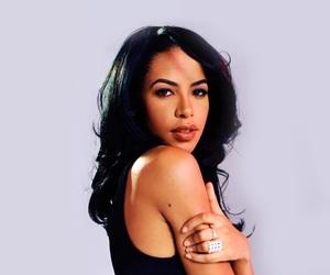 aaliyah, beautiful, and makeup image