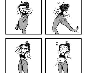 funny, c-cassandra, and comics image