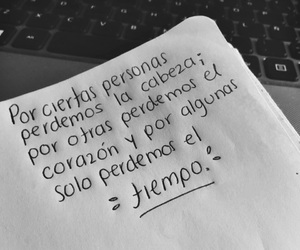 love, frases, and tiempo image