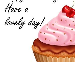 birthday, cupcake, and b'day image