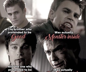 damon, ian somerhalder, and stefan image