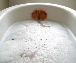 bath, feet, and relax image