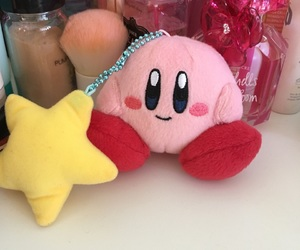 kirby, pink, and yellow star image