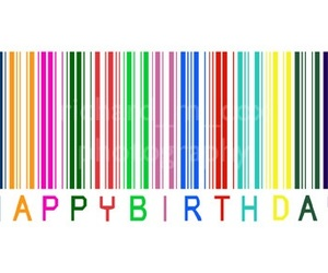 birthday, coloful, and hbd image
